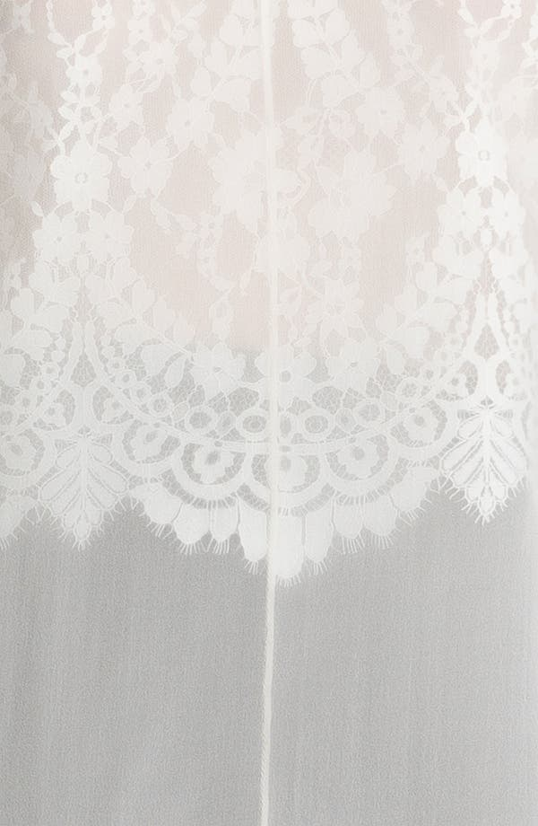 Alternate Image 5  - Robert Rodriguez Illusion Lace Shirt