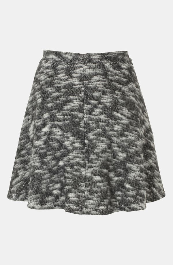 Alternate Image 2  - Topshop Blanket Skater Skirt