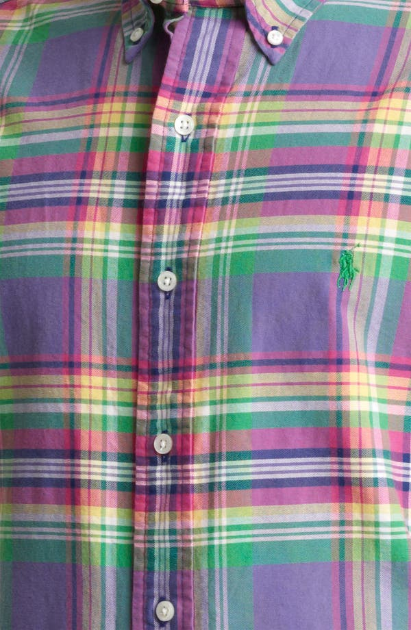 Alternate Image 3  - Polo Ralph Lauren Custom Fit Sport Shirt