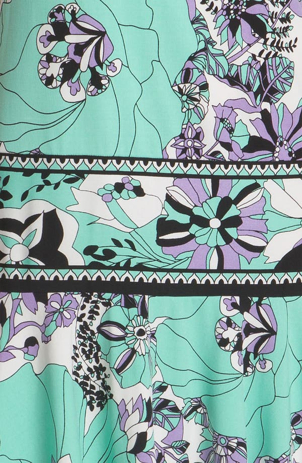 Alternate Image 3  - Donna Morgan Drop Waist Print Jersey Dress