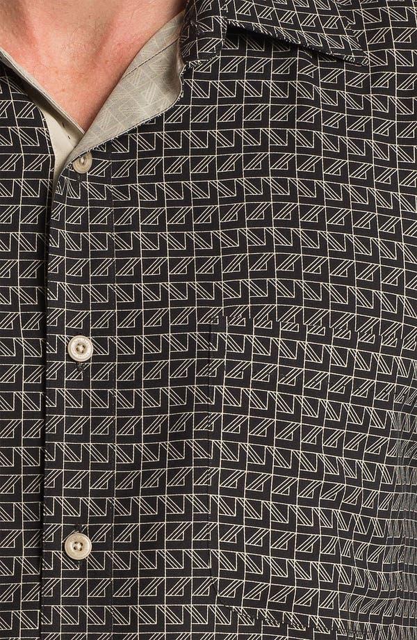 Alternate Image 3  - Nat Nast 'On Board' Silk Regular Fit Sport Shirt