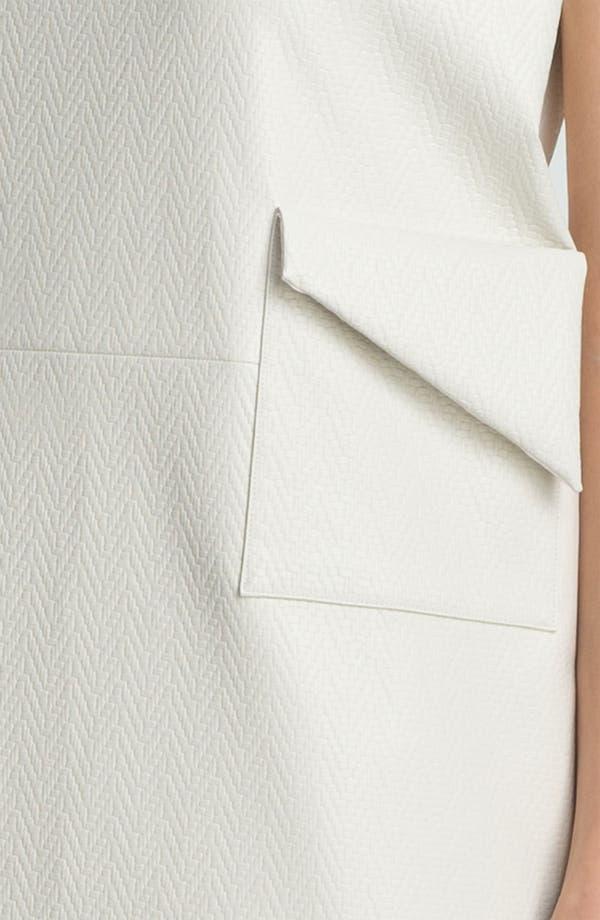 Alternate Image 3  - KENZO Coated Herringbone Shift Dress