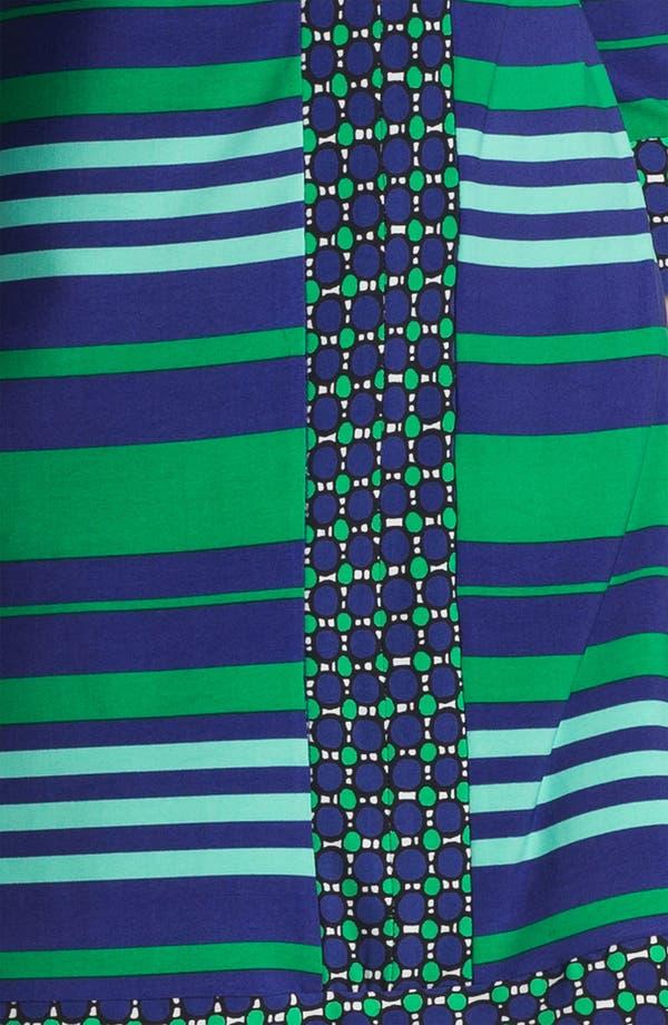 Alternate Image 3  - Donna Morgan Contrast Print & Stripe Sheath Dress
