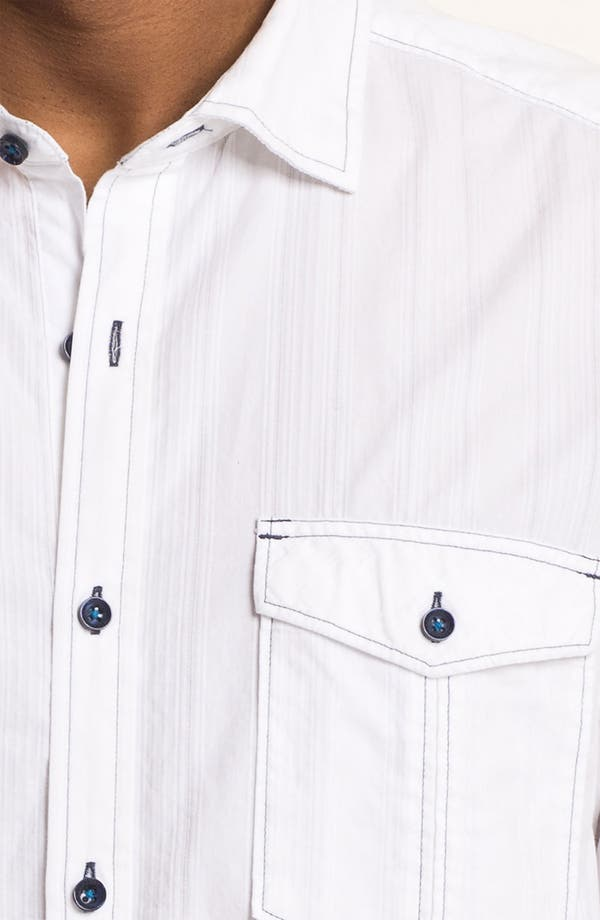 Alternate Image 3  - Tommy Bahama Denim 'Dobby Blanco' Sport Shirt