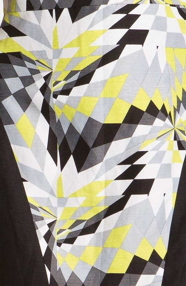 Alternate Image 3  - Tibi 'Isosceles' Print Colorblock Dress