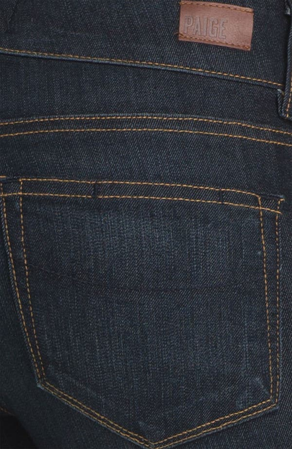 Alternate Image 3  - Paige Denim 'Hidden Hills' Bootcut Stretch Jeans (Carson) (Petite)