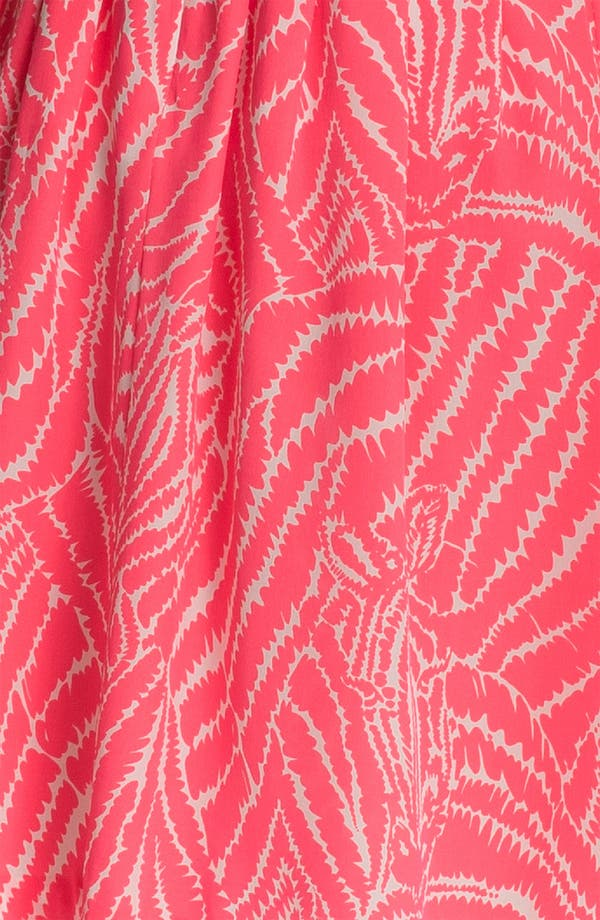 Alternate Image 3  - Lilly Pulitzer® 'Posey' Print Silk Fit & Flare Dress