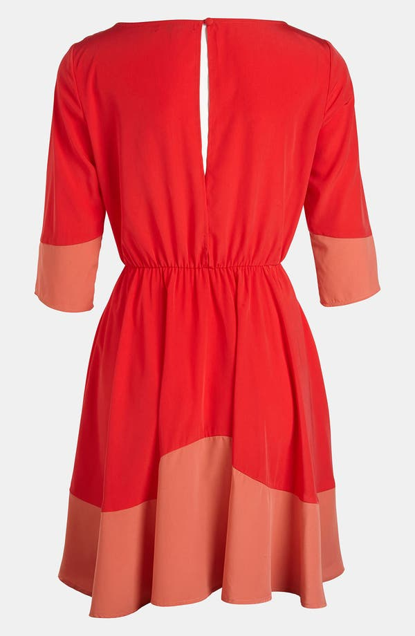 Alternate Image 2  - BB Dakota Colorblock Dress