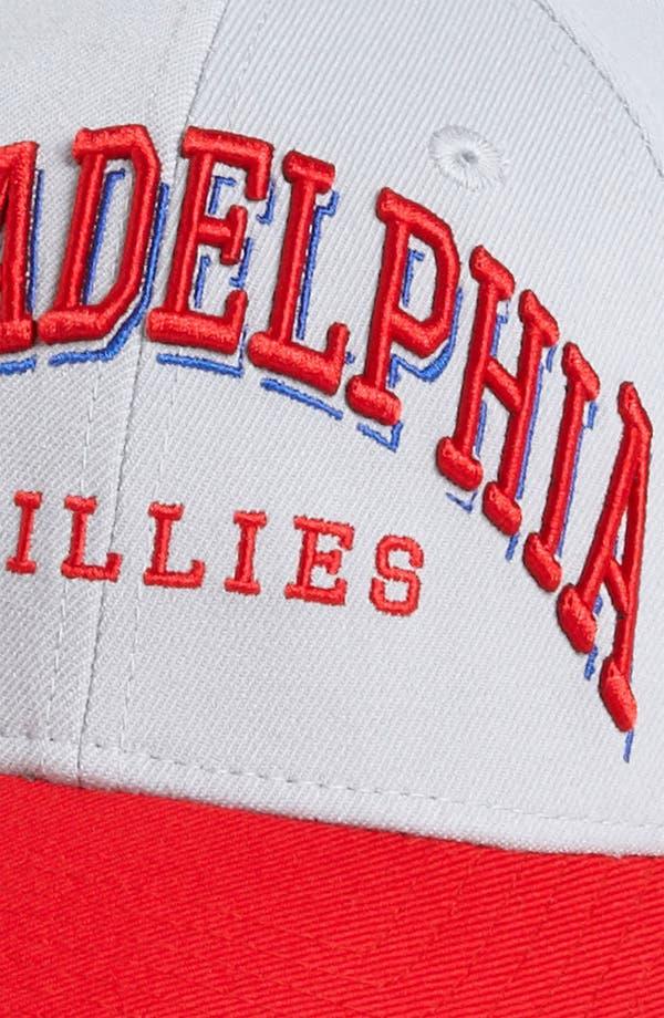 Alternate Image 3  - New Era Cap 'Philadelphia Phillies - Arch Mark' Fitted Baseball Cap