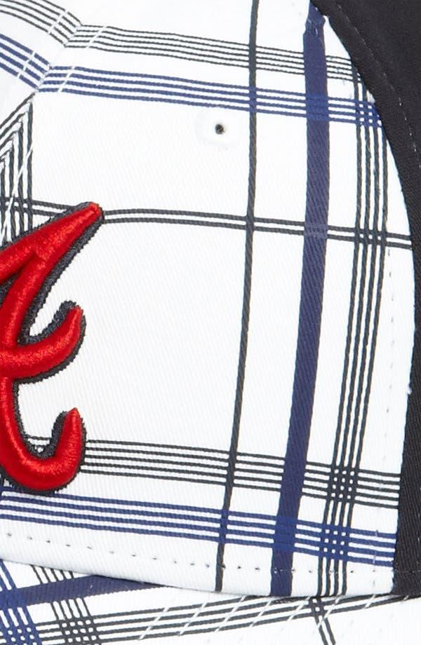 Alternate Image 3  - New Era Cap 'Atlanta Braves - Plaidtastic' Fitted Baseball Cap