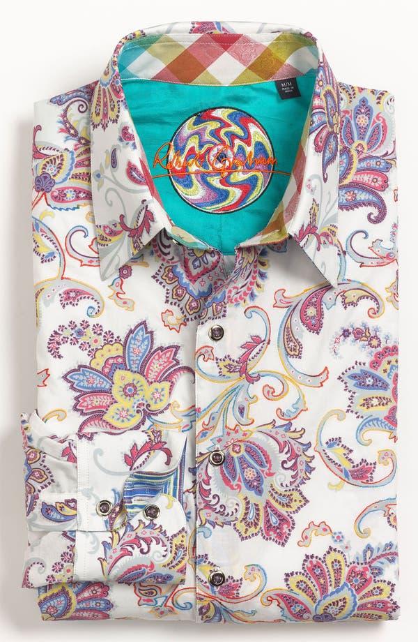 Alternate Image 2  - Robert Graham 'Chitwood' Regular Fit Sport Shirt