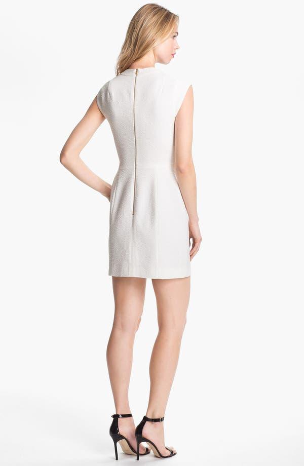 Alternate Image 2  - Theory 'Orinthia' Cotton Blend Sheath Dress