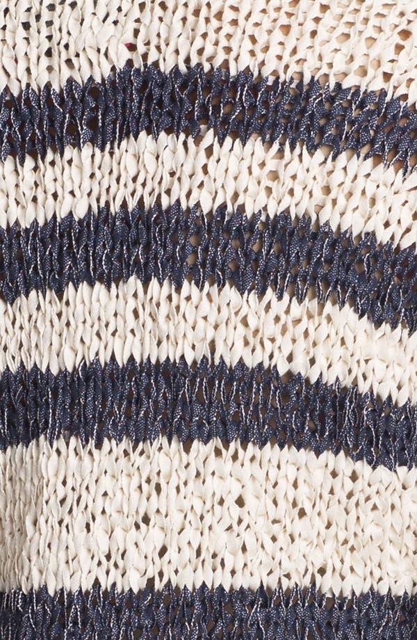 Alternate Image 3  - Shirt 469 Variegated Stripe Sweater (Petite)