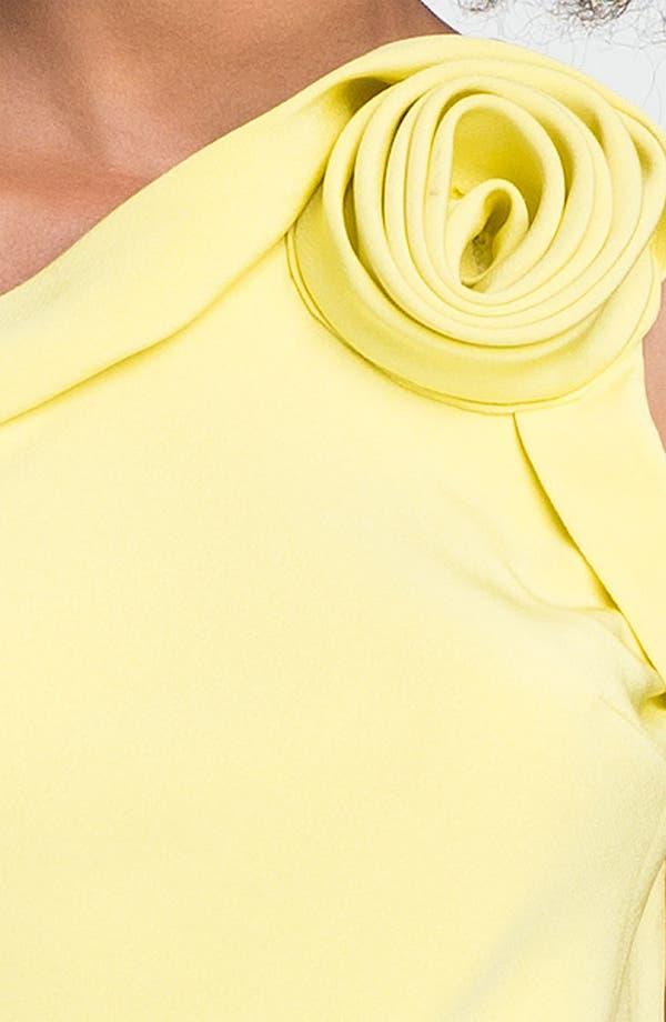 Alternate Image 3  - A.B.S. by Allen Schwartz Rosette One Shoulder Dress
