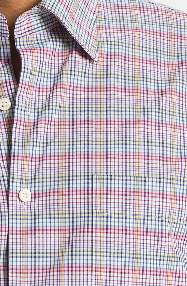 Alternate Image 3  - Peter Millar 'Cypress' Regular Fit Sport Shirt
