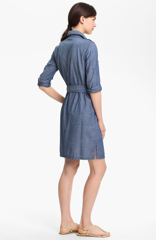 Alternate Image 2  - Tory Burch 'Brigitte' Cotton Shirtdress