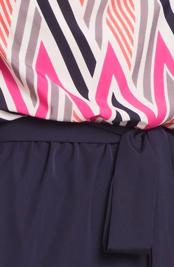 Alternate Image 3  - Eliza J Geo Print Blouson Dress