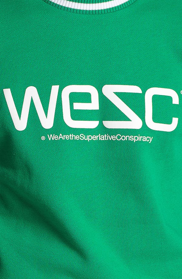 Alternate Image 3  - WeSC Logo Graphic Crewneck Sweatshirt