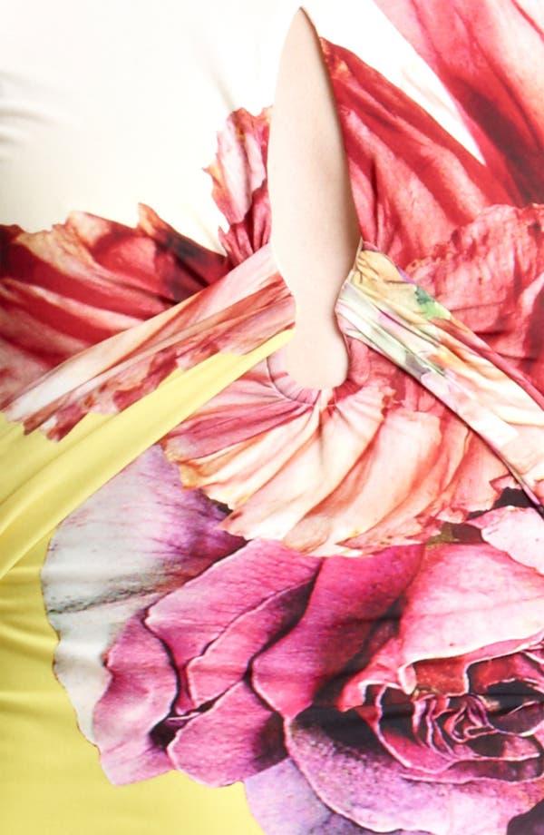 Alternate Image 3  - Roberto Cavalli 'Vervienne Print' Sheath Dress