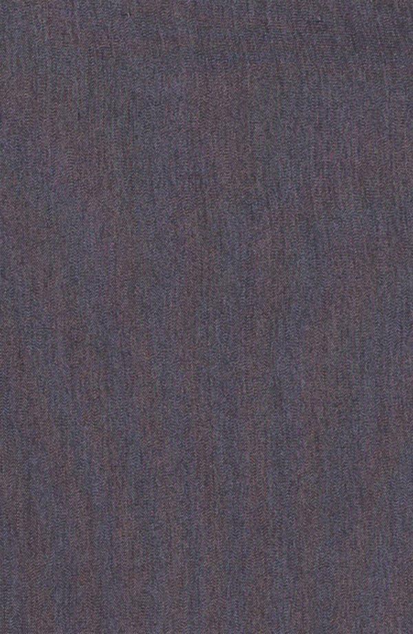 Alternate Image 5  - Halogen® Black Denim Suit Skirt