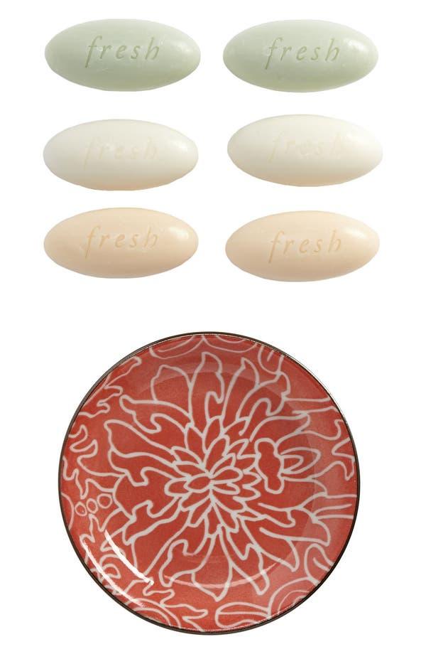Alternate Image 2  - Fresh® Mini Oval Soap Set