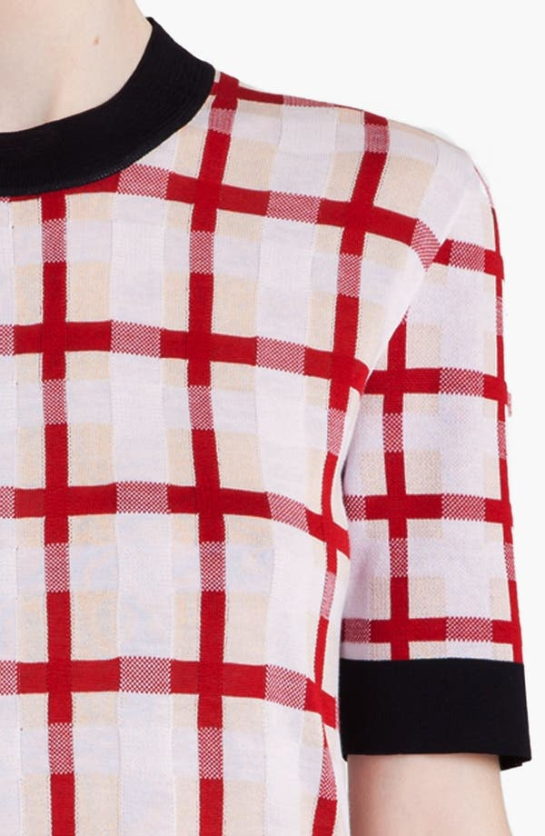 Alternate Image 6  - Marni Grid Pattern Sweater