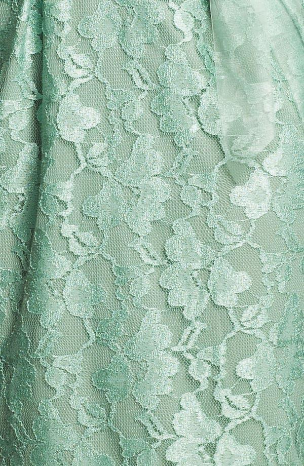 Alternate Image 3  - Alex Evenings Cap Sleeve Lace Sheath Dress