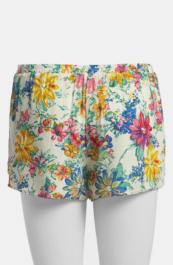 Alternate Image 3  - Lucca Couture Floral Shorts