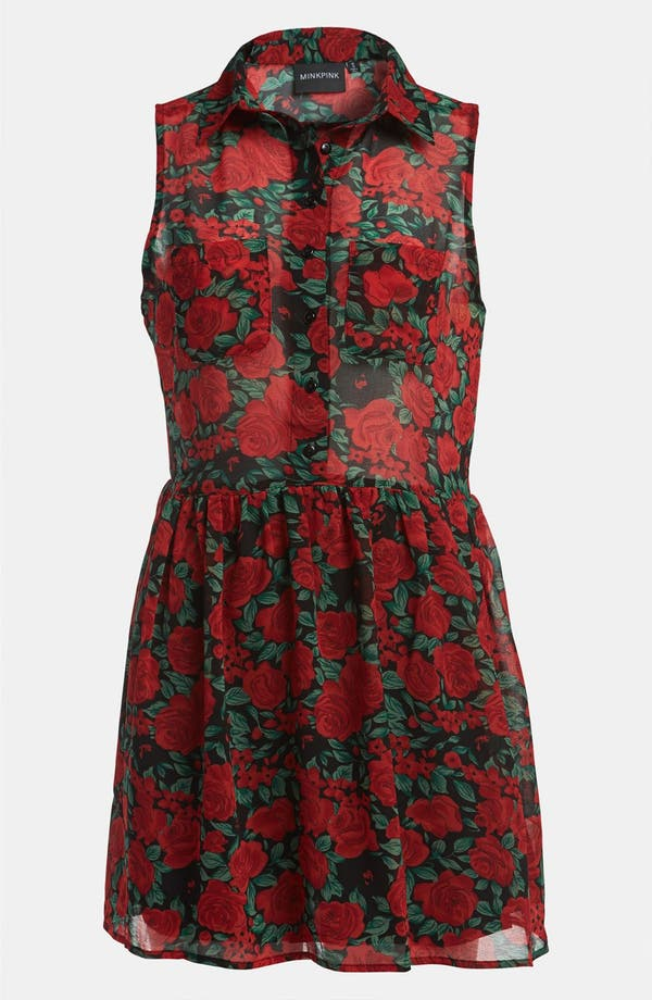 Alternate Image 1 Selected - MINKPINK 'Valentine' Sleeveless Dress