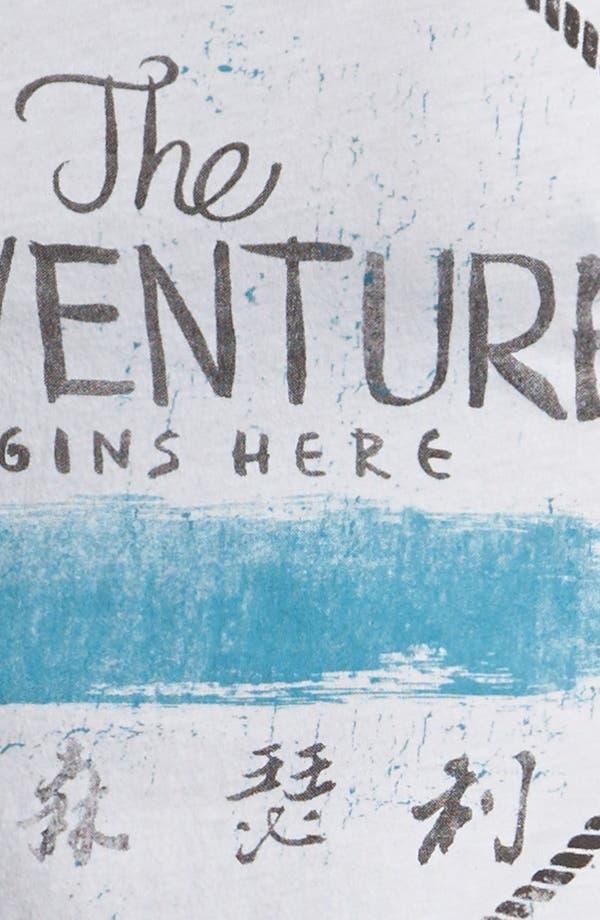 Alternate Image 3  - Scott Free 'Adventure' Graphic V-Neck T-Shirt