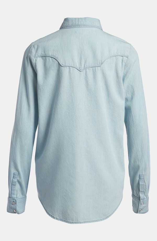 Alternate Image 3  - Leith Chambray Western Shirt