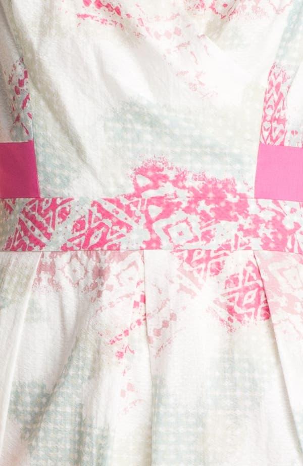 Alternate Image 3  - Jessica Simpson Print Cotton Dress