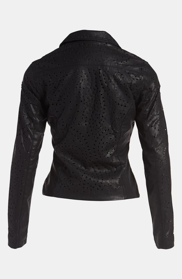 Alternate Image 2  - BLANKNYC 'Cookie Cutter' Faux Leather Jacket