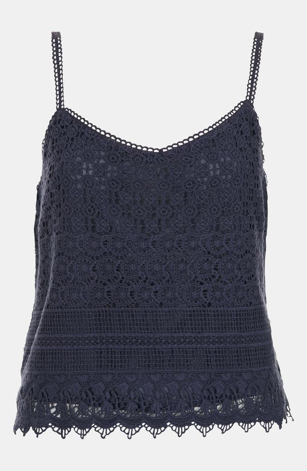 Alternate Image 1 Selected - Topshop Crochet Camisole