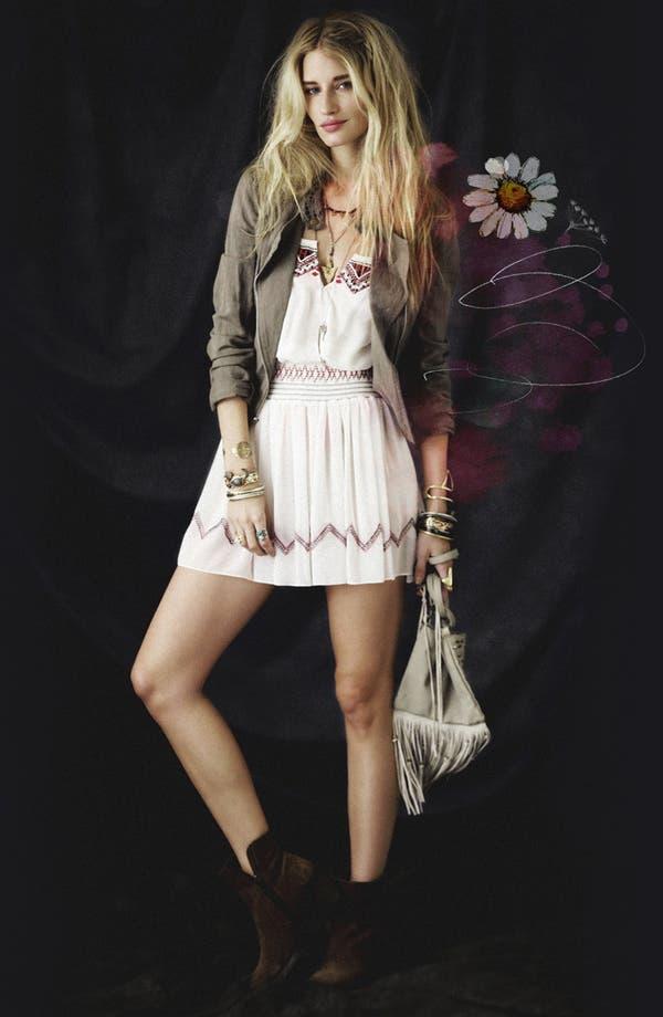 Main Image - Free People Dress & Linen Blend Jacket