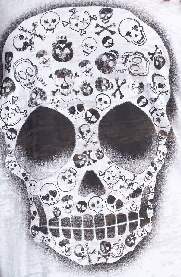 Alternate Image 3  - Pretty Rebel Skull Graphic Tee (Juniors Plus)