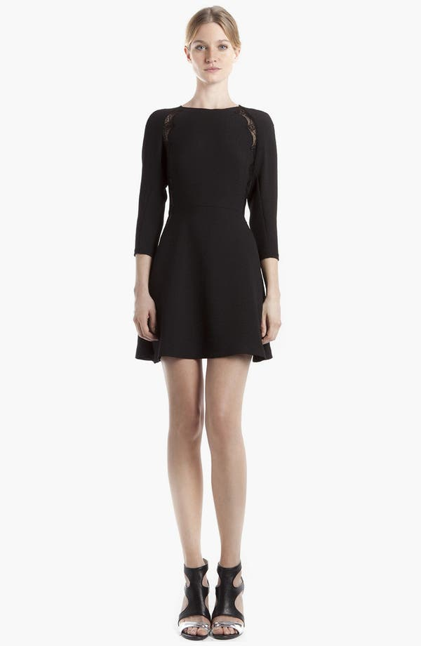 Alternate Image 1 Selected - sandro 'Relator' Stretch Fit & Flare Dress