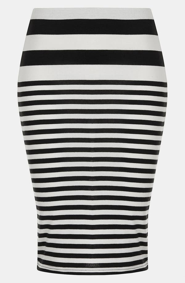Alternate Image 3  - Topshop Stripe Tube Skirt