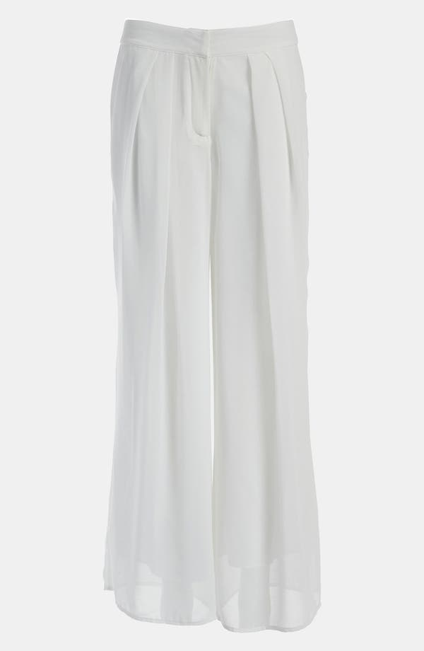 Alternate Image 1 Selected - I.Madeline Pleated Palazzo Pants