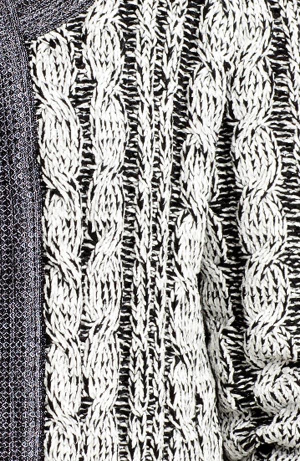 Alternate Image 3  - Exclusively Misook 'Rena' Sweater Jacket (Plus Size)