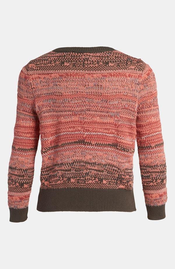 Alternate Image 2  - Leith 'Tattered Stripe' Sweater