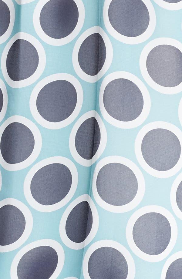 Alternate Image 3  - Pleione Print Sheer Chiffon Top (Plus Size)