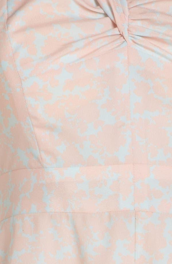 Alternate Image 3  - Wayf Single Shoulder Strap Dress