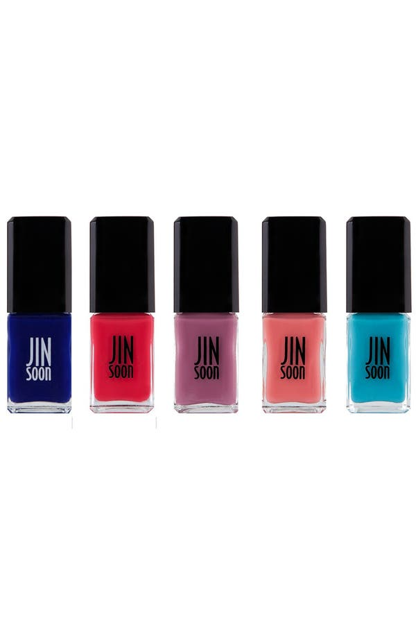 Alternate Image 5  - JINsoon 'Poppy Blue' Nail Lacquer