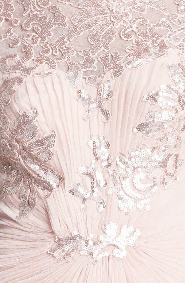 Alternate Image 3  - Tadashi Shoji Embellished Draped Gown