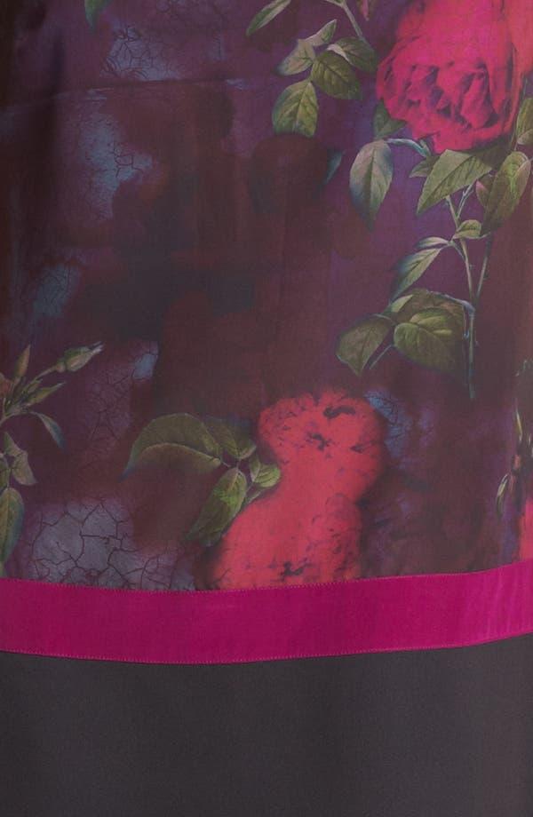 Alternate Image 3  - Ted Baker London 'Timeless Romantic' Print Shift Dress