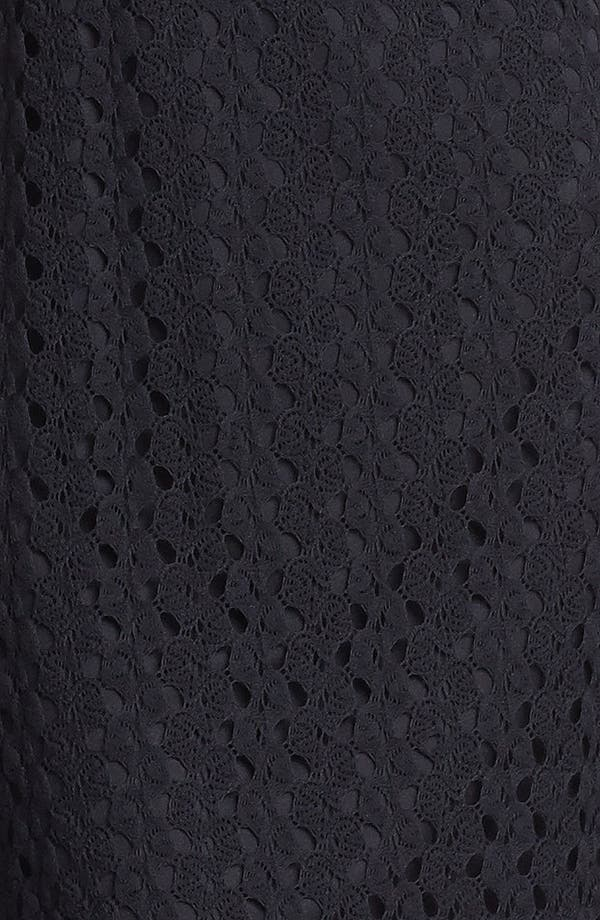 Alternate Image 3  - As U Wish Crochet High/Low Dress (Juniors)