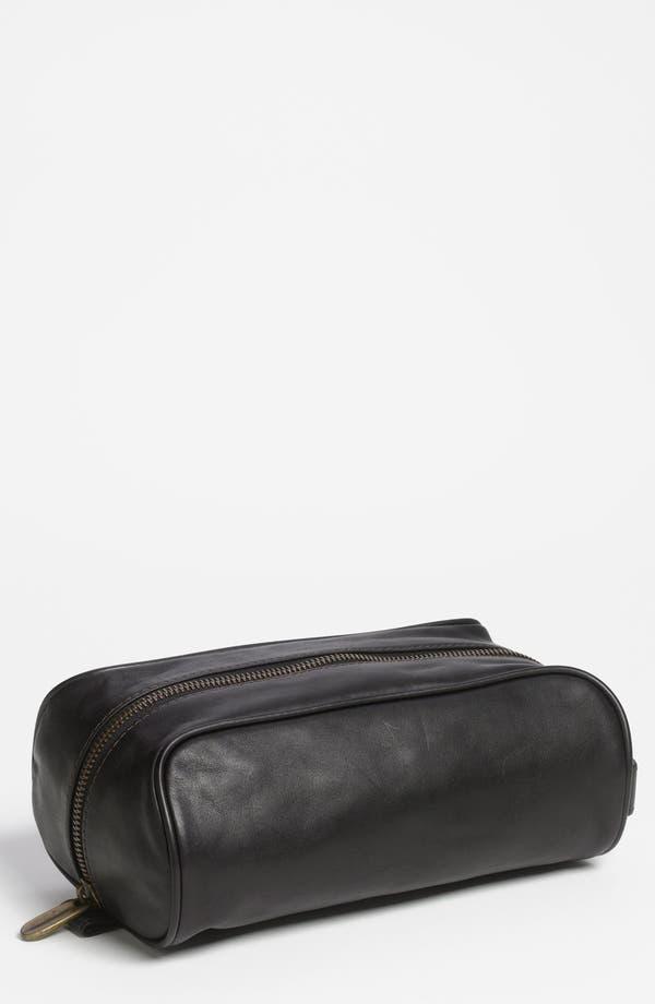 Alternate Image 1 Selected - Bosca Leather Travel Kit