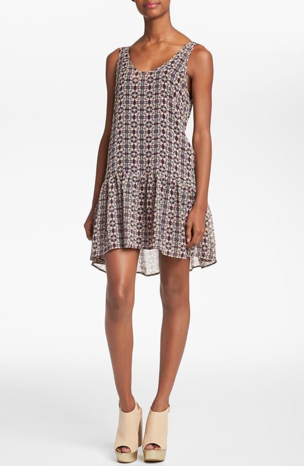 Main Image - ASTR Drop Waist Shift Dress