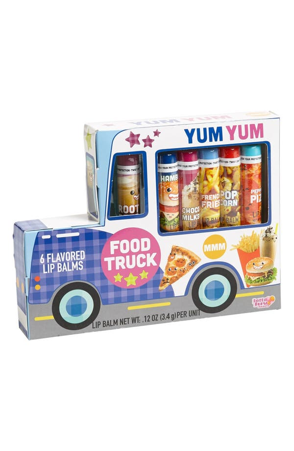 Main Image - Lotta Love 'Foodie Truck' Lip Balm (Girls)